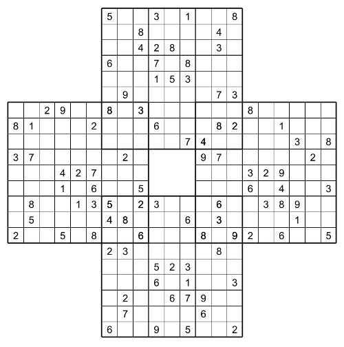 Divine image for multi sudoku printable