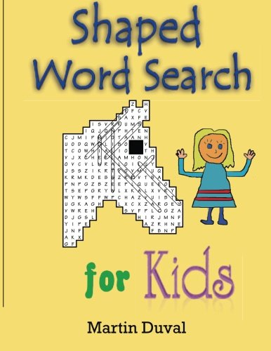 Shaped Word Search for kids
