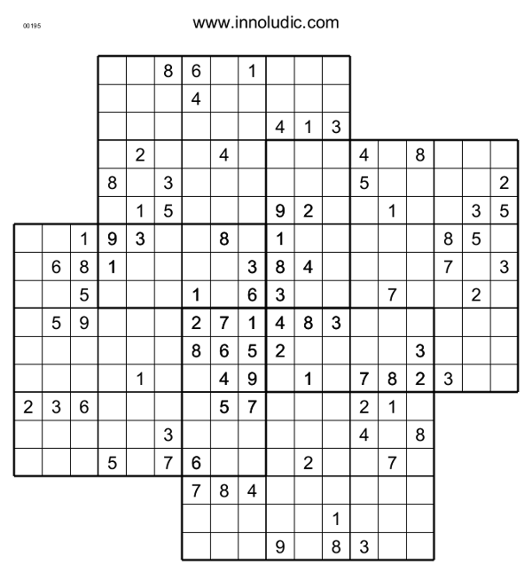 This is a graphic of Transformative Multi Sudoku Printable
