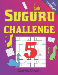 Suguru Challenge vol 5